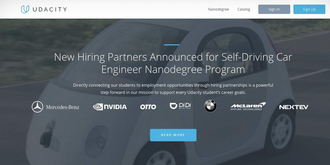 オンラインで自動運転車の開発スキルを学べる!?Udacityが提供する自動運転シ…