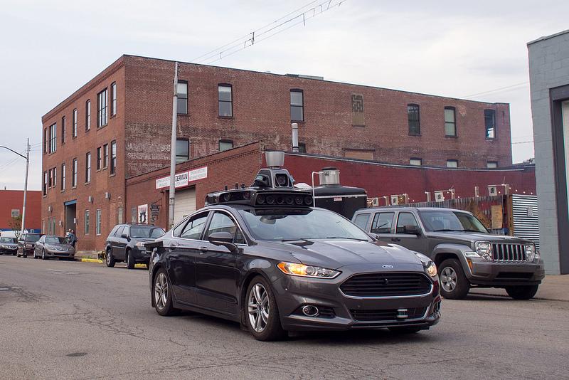 Uberの自動運転車