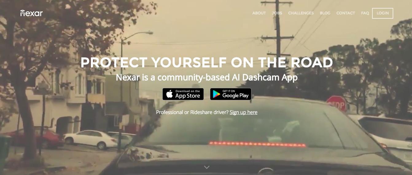 ドラレコアプリ Nexar
