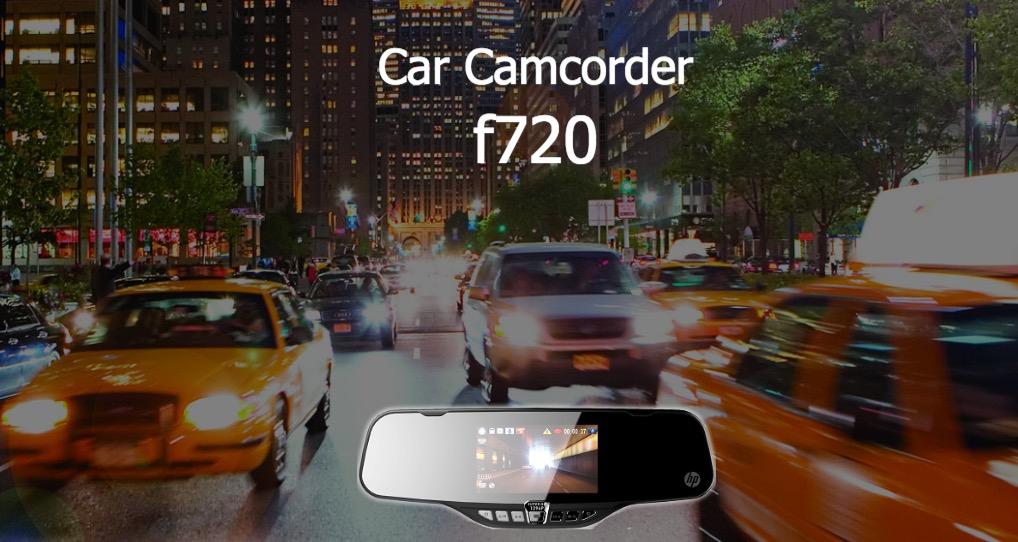 HP ルームミラータイプ ドライブレコーダー「f720」
