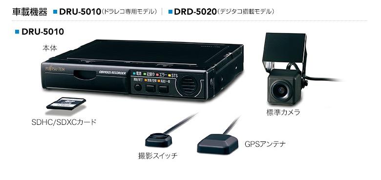 富士通テン G500シリーズ